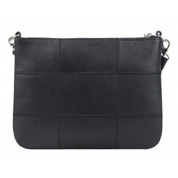 сумка женская кожаная (черная)