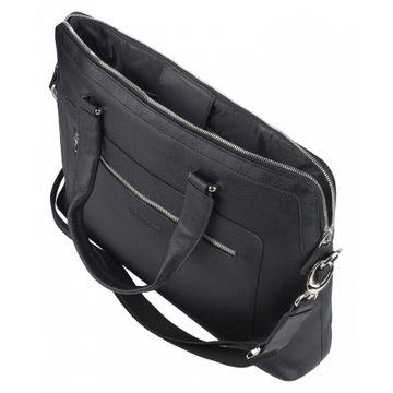 сумка портфель из натуральной кожи