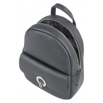 рюкзак женский кожаный (смок)
