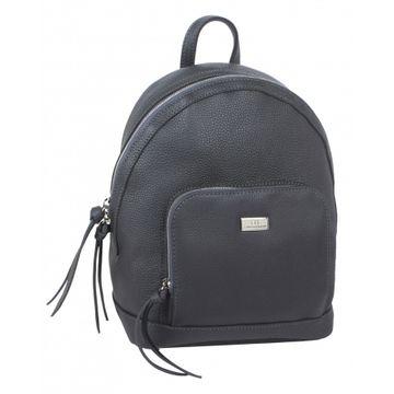 рюкзак женский кожаный (серый)
