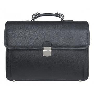 портфель мужской деловой из натуральной кожи 2-705/4кFM1
