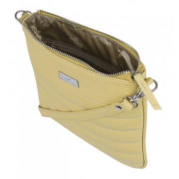 сумка-планшет женская из натуральной кожи
