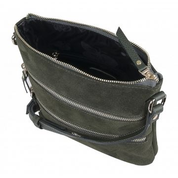 сумка женская из натуральной замши
