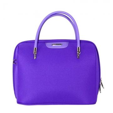 бьюти-кейс с плечевым ремнем (фиолетовый)