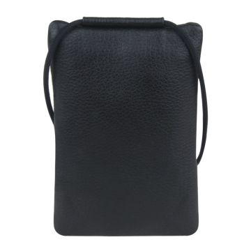 сумочка кожаная на шею для телефона, паспорта и прочих мелочей