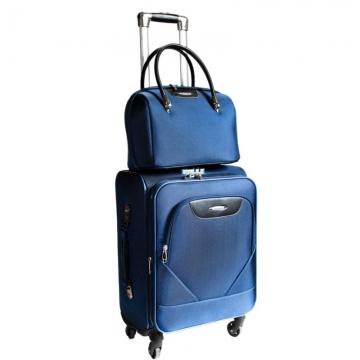 бьюти-кейс на чемодан (синий)