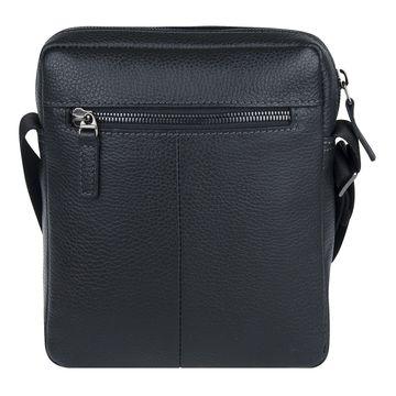 стильная мужская кожаная сумка через плечо
