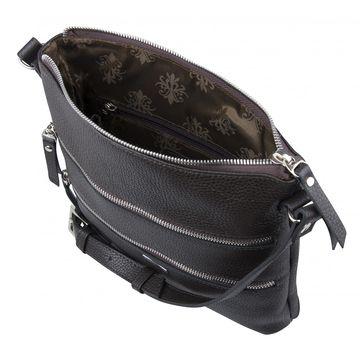 сумка женская из натуральной кожи (каштановая)