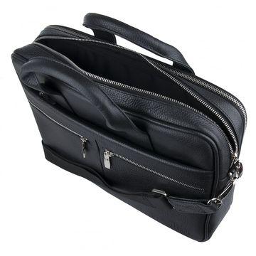 деловая сумка для бумаг а4 из натуральной кожи