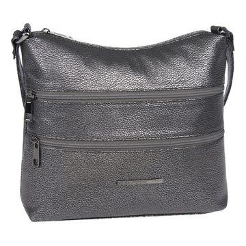 сумка женская из искусственной кожи (бронзовая)