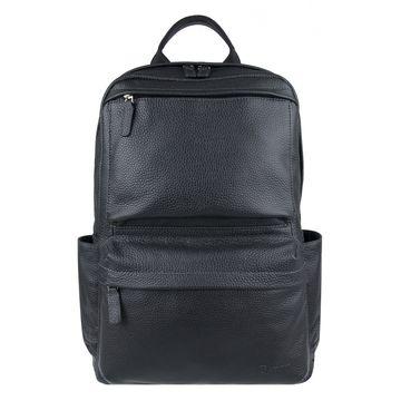 мужской рюкзак из натуральной кожи с отделом для планшета