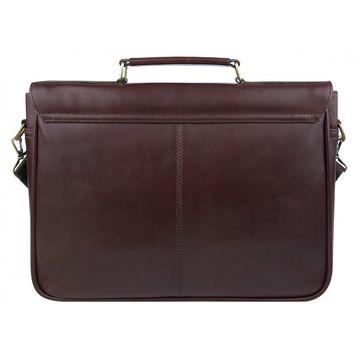 Портфель мужской кожаный коричневый