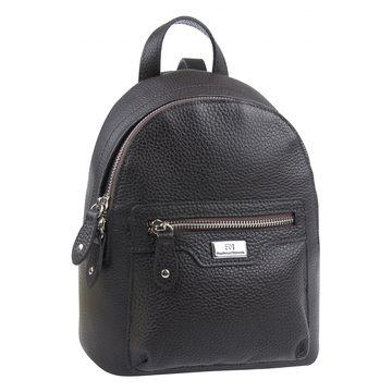 рюкзак женский из натуральной кожи (каштановый)