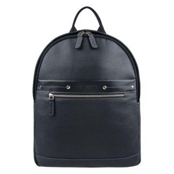 мужской кожаный рюкзак с отделением для планшета