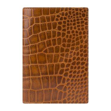 кожаная обложка паспорта с отделениями для карт