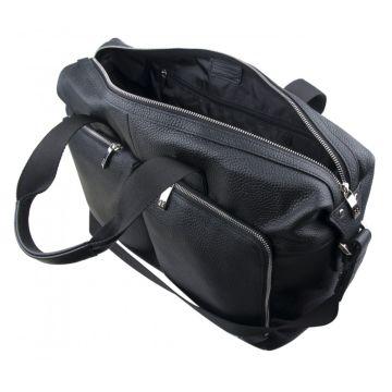 большая кожаная сумка с отделением для ноутбука