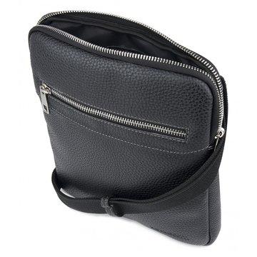сумка мужская через плечо из искусственной кожи