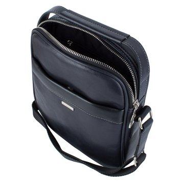 сумка мужская через плечо из натуральной кожи