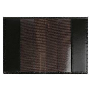 обложка для паспорта медный всадник (коричневая)