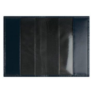 обложка для паспорта медный всадник (синяя)
