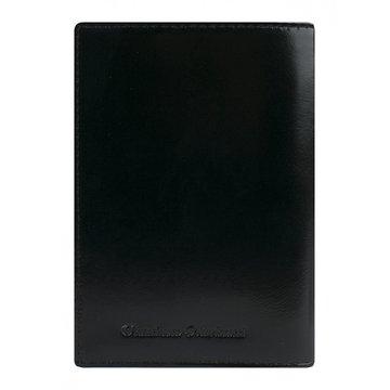 обложка для паспорта медный всадник (чёрная)