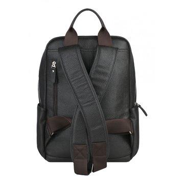рюкзак мужской из натуральной кожи (коричневый)
