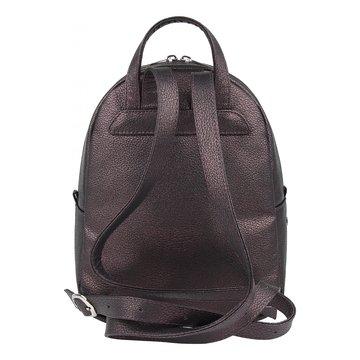 рюкзак женский из искусственной кожи (бордовый)