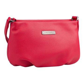 сумка женская из искусственной кожи (красная)