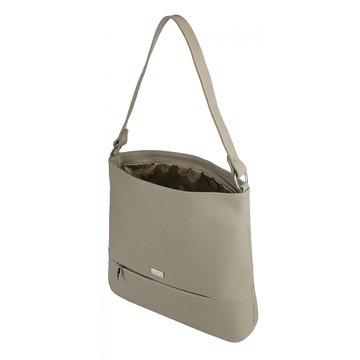 сумка женская из натуральной кожи (латте)
