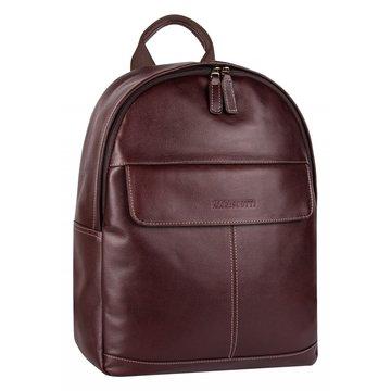 Кожаный мужской рюкзак с отделением для планшета