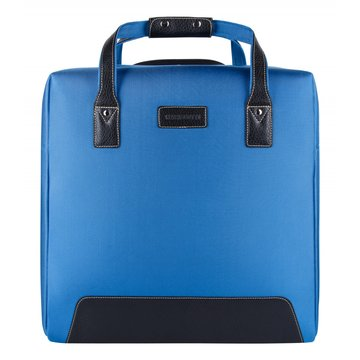 сумка-тележка с выдвижной ручкой (голубая)