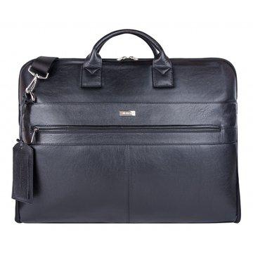 сумка-портплед из натуральной кожи