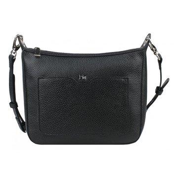 Женская сумка чёрная из натуральной кожи