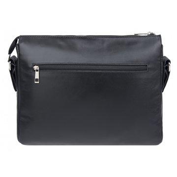 Мужская сумка из натуральной кожи горизонтальная