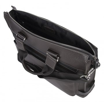 Мужская сумка на двух ручках из натуральной кожи