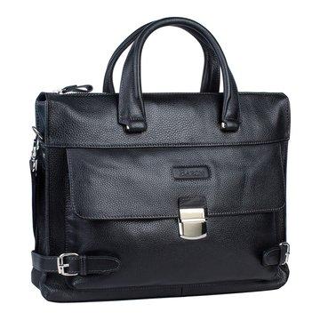 Мужская деловая сумка для документов на двух ручках кожаная