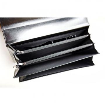 Портфель мужской из искусственной кожи (черный)