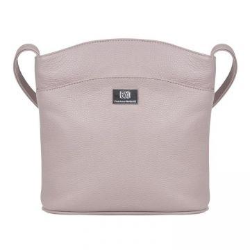 сумка женская из натуральной кожи (жемчуг)