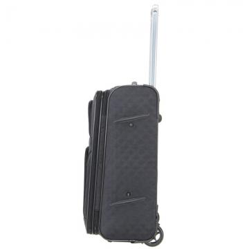 большой чемодан на 2-х колесах 91 литр (черный)