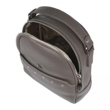 рюкзак женский из натуральной кожи (капучино)