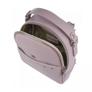рюкзак женский из натуральной кожи (жемчуг)