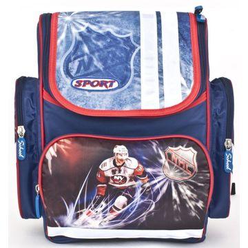 ранец школьный с хоккеистом