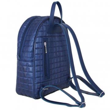 рюкзак женский текстильный (синий)