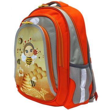школьный ранец для девочки с пчелкой