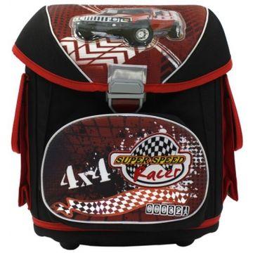 школьный ранец для мальчика с машиной