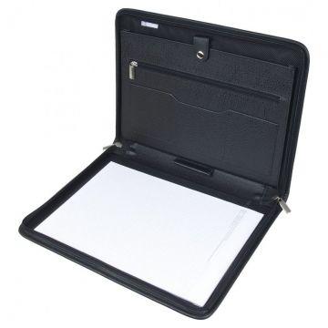 Папка деловая для документов с блокнотом