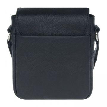 сумка-планшет мужская через плечо кожаная