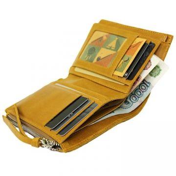 мужской кошелек П-17-А желтый