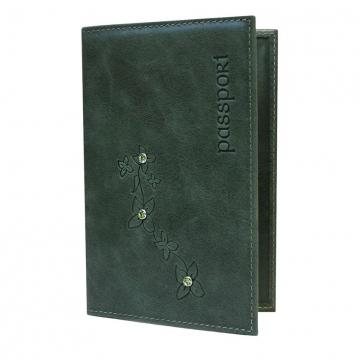 """обложка для паспорта из натуральной кожи """"мэри"""""""