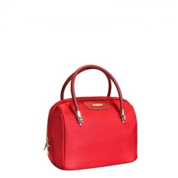 бьюти кейс на чемодан (бордовый)